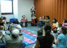 Early childhood development program offered by the Hayward Library.