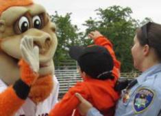 Hayward Police Department's Junior Giants Summer Baseball Program.