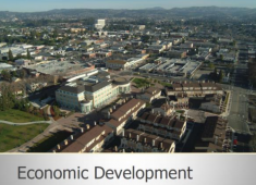 The City's first Economic Development Strategic Plan was adopted in 2013.