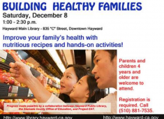 Health event sponsored by the Hayward Library