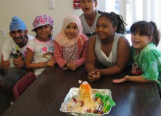 Hayward youth participating in a Library summer learning program.