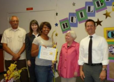 Hayward student being recognized for her success.