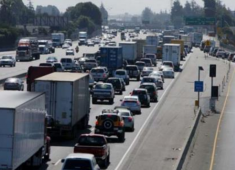During commute hours, 25 to 40 percent of the traffic on Hayward arterials is contributed to motorist that are driving through Hayward to avoid regional congestion on freeways.