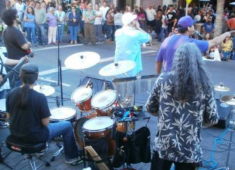 Downtown Street Party.  Courtesy of the Hayward Chamber of Commerce.