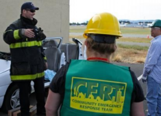 Community Emergency Response Team Training.