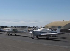 Hayward Executive Airport.
