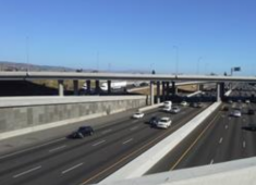 Freeways and major arterial streets are major sources of air pollution in Hayward.
